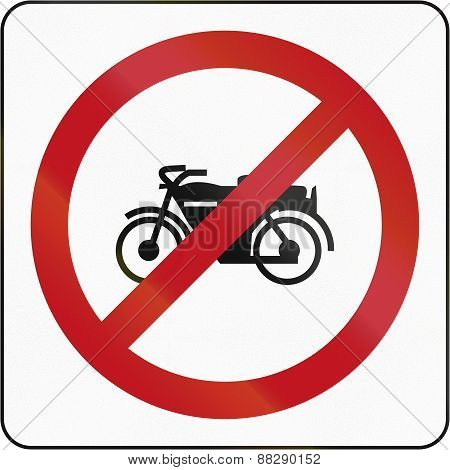 No Motorcycles In Brunei