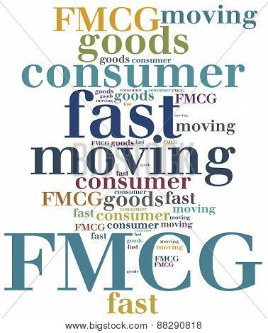 Fmcg Or Fast Moving Consumer Goods.