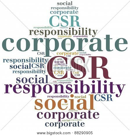 Csr. Corporate Social Responsibility.