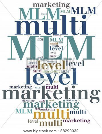 Mlm. Multi Level Marketing.