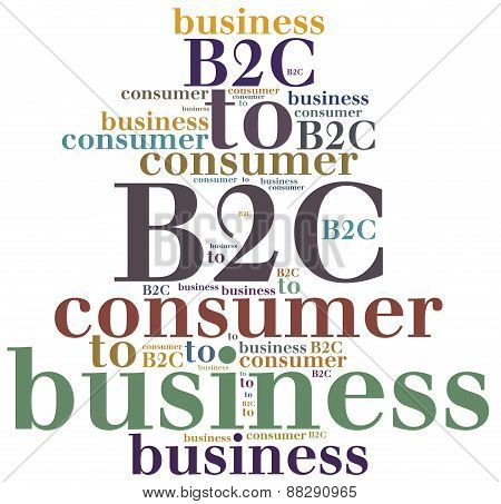 B2C. Business To Consumer.