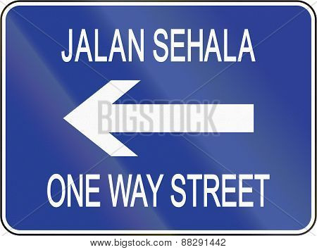 One-way To The Left In Brunei