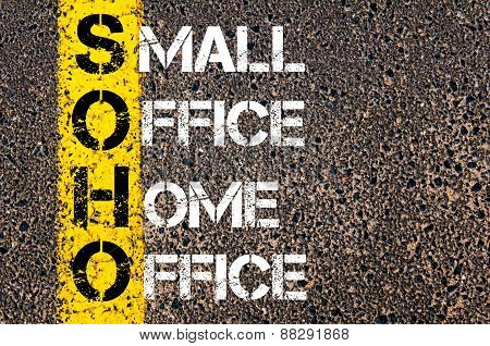 Business Acronym Soho As Small Office Home Office