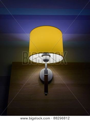 Lamp With Yellow