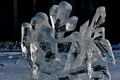 picture of peculiar  - Ice sculpture tourism - JPG