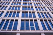 stock photo of framing a building  - Full frame take of the facade of a modern office building - JPG