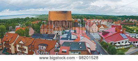 Cityscape Frombork Poland