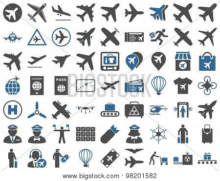 Aviation Icon Set