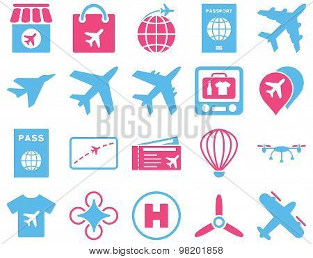 Airport Icon Set
