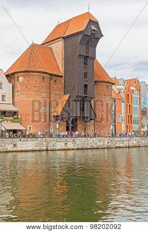 Gdansk Old Crane, Poland