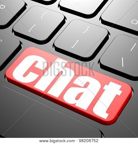 Keyboard With Chat Text