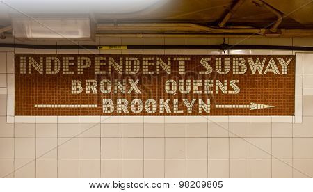 Independent Subway - New York City Subway System