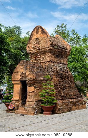 One of Po Nagar towers in Nha Trang, Vietnam