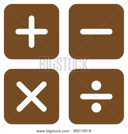 Calculator icons from Business Bicolor Set