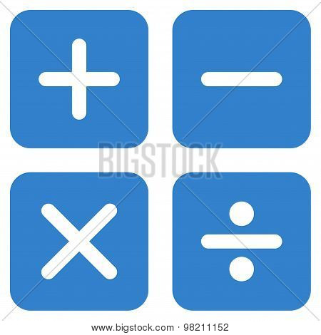 Calculator icon from Business Bicolor Set