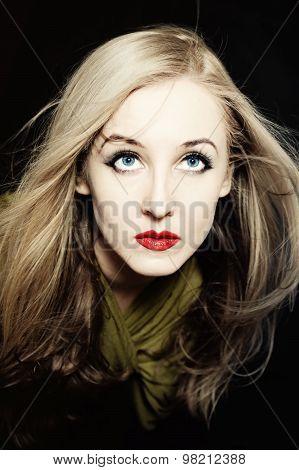 Woman Having Beautiful Hair