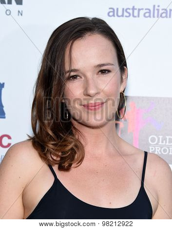 LOS ANGELES - JUL 20:  Claire VanDerBoom arrives to the