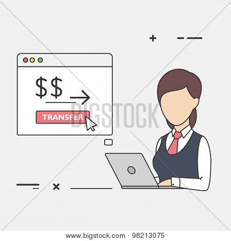 Female Finance Clerk