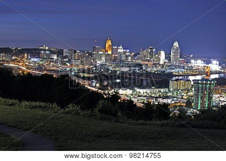 Skyline of Cincinnati
