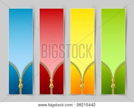 Zipper Banners