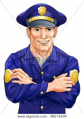 Happy Policeman