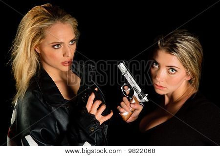 Young Women With Guns