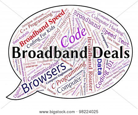 Broadband Deals Indicates World Wide Web And Agreement