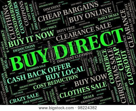 Buy Direct Shows From Manufacturer And Bought