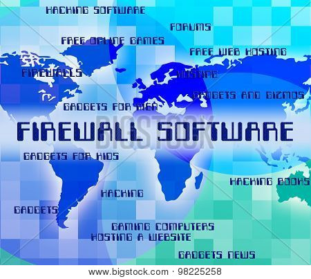 Firewall Software Means No Access And Application