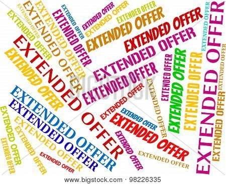 Extended Offer Represents Clearance Offers And Bargain