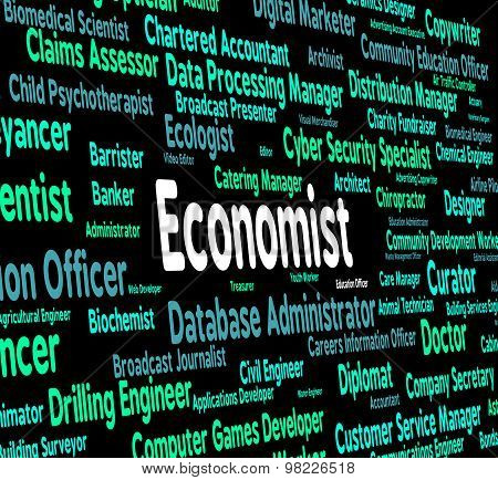 Economist Job Means Macro Economics And Fiscal