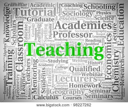 Teaching Word Shows Webinar Educate And Seminar