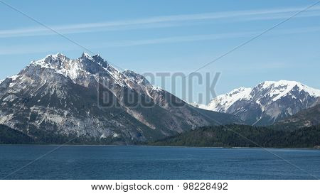 Mountainous Glacier Bay