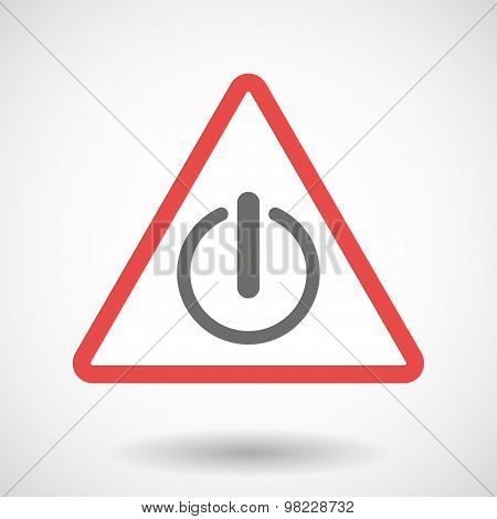 Warning Signal With An Off Button