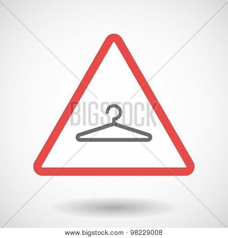 Warning Signal With A Hanger