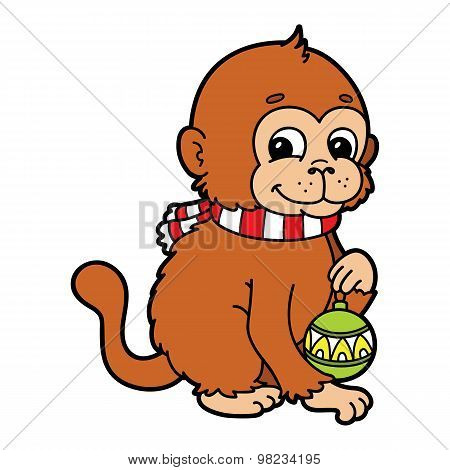 funny monkey.