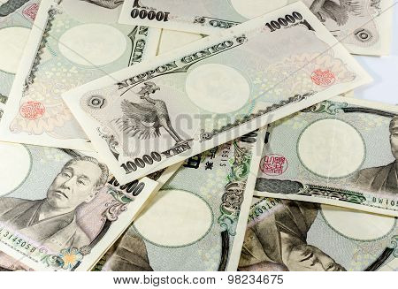 Japanese Yen For Commercial
