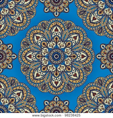 Saturated, Oriental Pattern