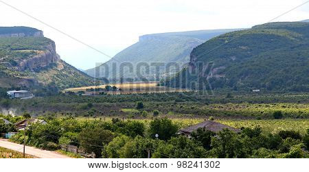 Mountains, Plains In The Crimea