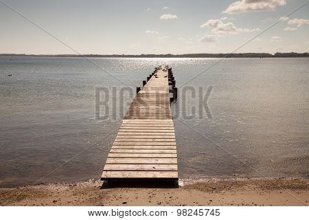 Baltic Sea, Wooden Boardwalk