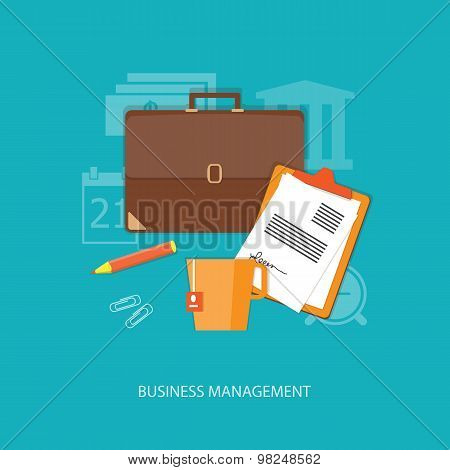 Flat  Business Elements