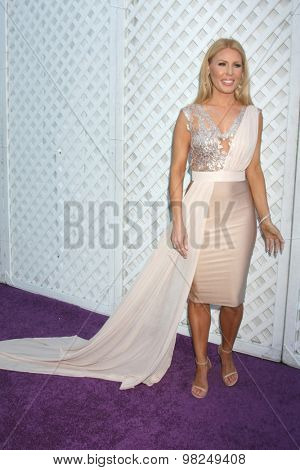 LOS ANGELES - AUG 8:  Gretchen Rossi at the 17th Annual HollyRod Designcare Gala at the The Lot on August 8, 2015 in West Hollywood, CA