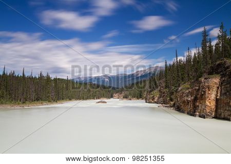 Athabasca River - Long Exposure Version