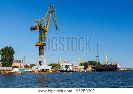 Gdansk. Sea Port.