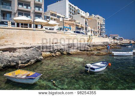 Port At Buggiba, Malta