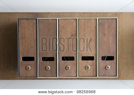 Five Mailboxes