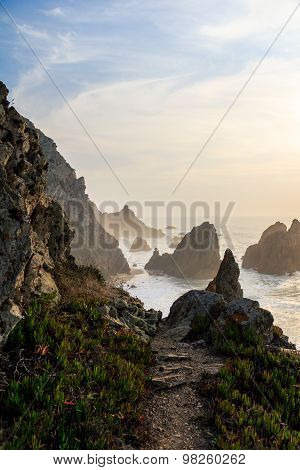 Amazing view of Portugal's coastline, Ursa