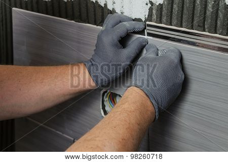 Laying The Tiles