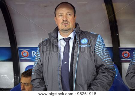 Rafael Benítez, Head Coach Of Ssc Napoli