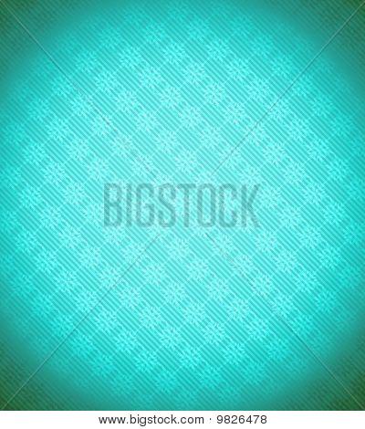 Turquoise - Blue Xmas Snowflake Background